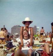 riis park women at beach