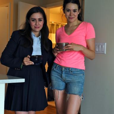 Ally-Jane Grossan & Molly Oswaks