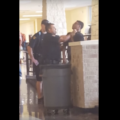 Brutal Video Shows Cop Choking 14-Year-Old Student Before Slamming Him To The Ground