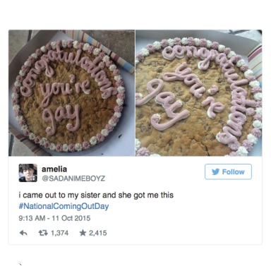 36 Heartwarming Tweets From #NationalComingOutDay That Will Reaffirm Your Faith In Humanity