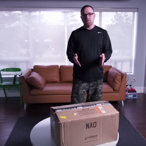 You Have To Watch This Guy Unbox A Robot Worth $8,000