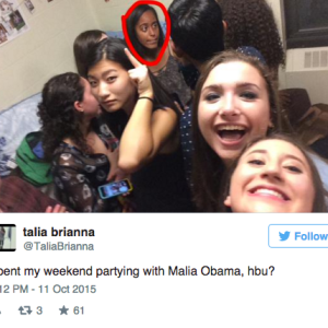 Brown University Students Go Nuts Posting Pictures Of Themselves 'Partying' With Malia Obama