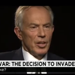 Former British Leader Tony Blair Apologizes For Iraq War (Sort Of)