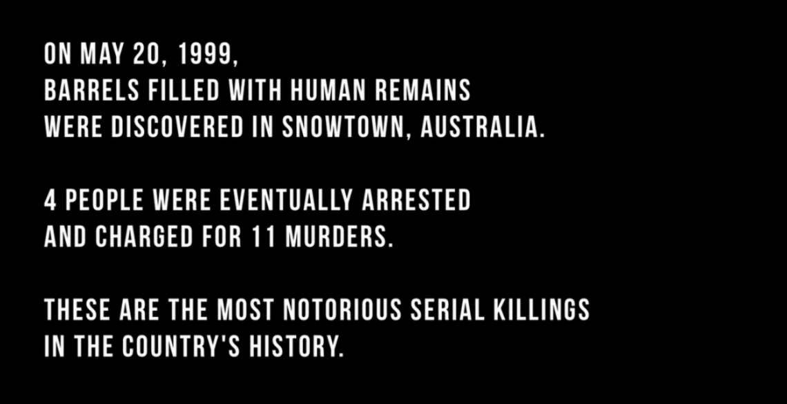 The Snowtown Murders - Official Trailer / Youtube