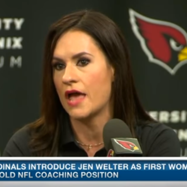 Jen Welter Is Smashing Through Gender Barriers
