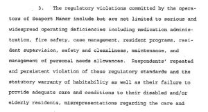 seaport manor lawsuit