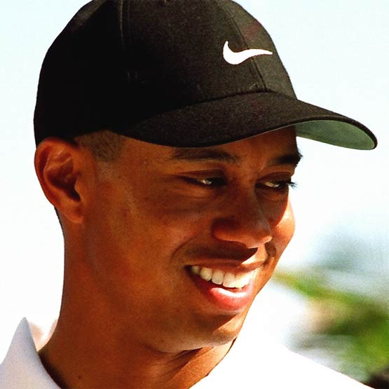 Tiger Woods. (Wikimedia Commons)