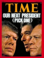 Time 1976 Carter Ford Reagan