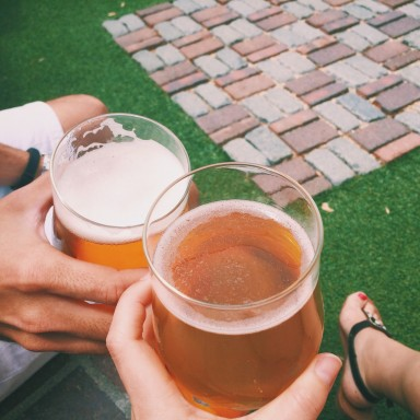 12 Stages Of Getting Drunk Alone Together As A Couple