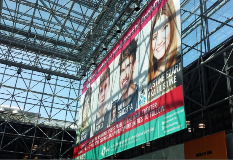 At BookExpo America 2015, YouTube authors, a major draw. Image: Porter Anderson