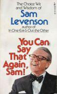 You can say that again Sam