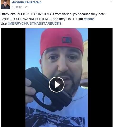 Facebook / Exposing Joshua Fraudstein