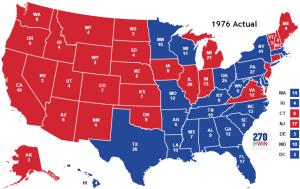 1976 electoral map