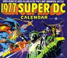 1977 DC Calendar cover