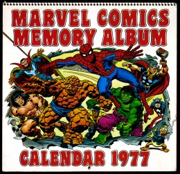 1977MarvelCalendar_cover