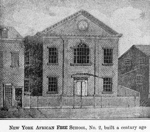 Wikipedia - New York African Free School