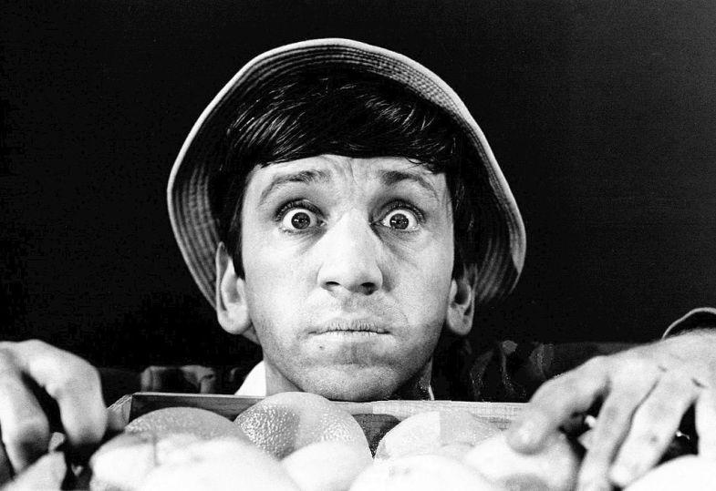 Bob Denver as Gilligan. (Wikimedia Commons)