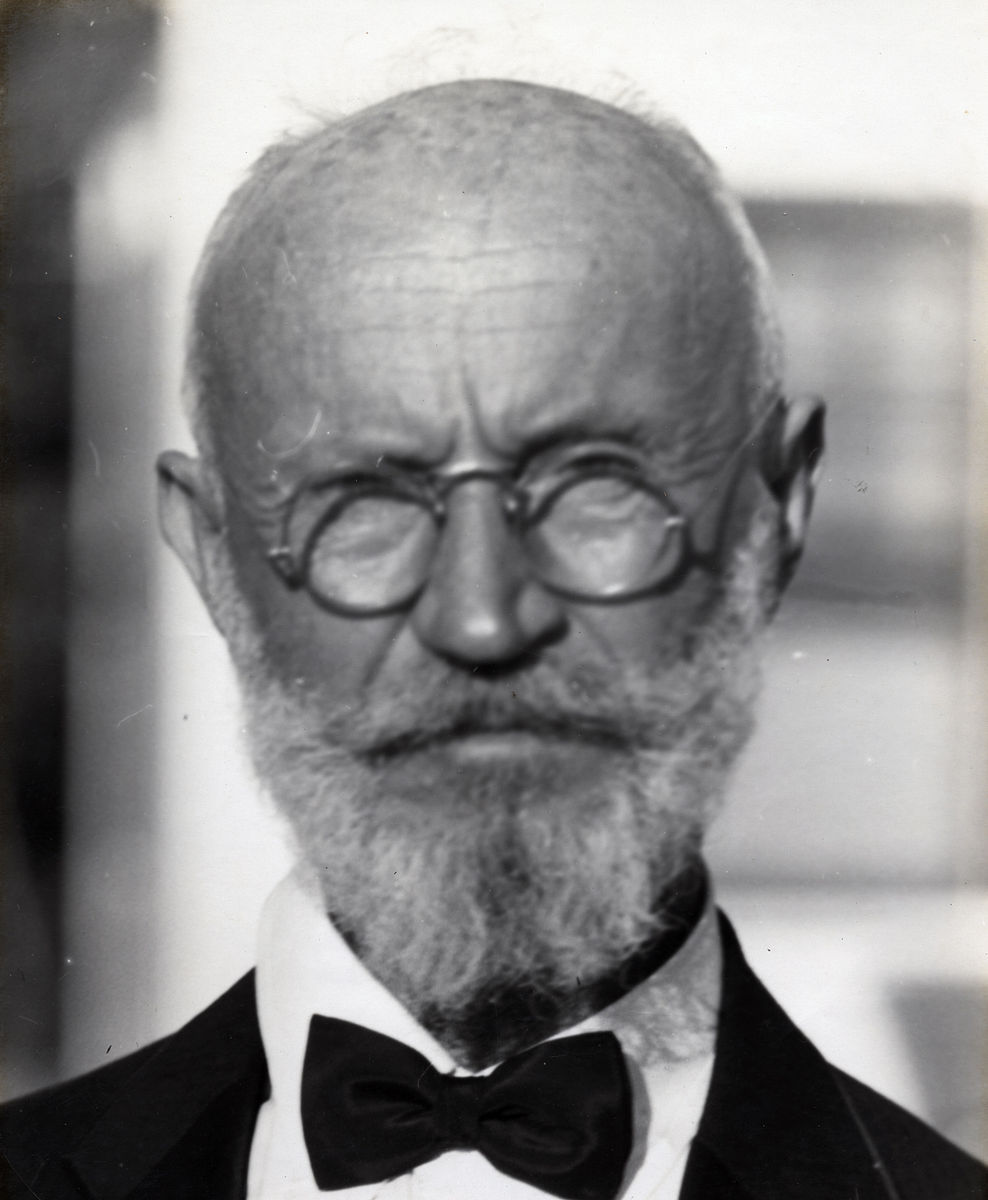 Carl Tanzler (Carl Von Cosel) in 1940. From the Stetson Kennedy Collection. (Florida Keys People)