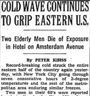 cold wave 1977
