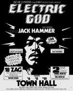 electric god jack hammer town hall