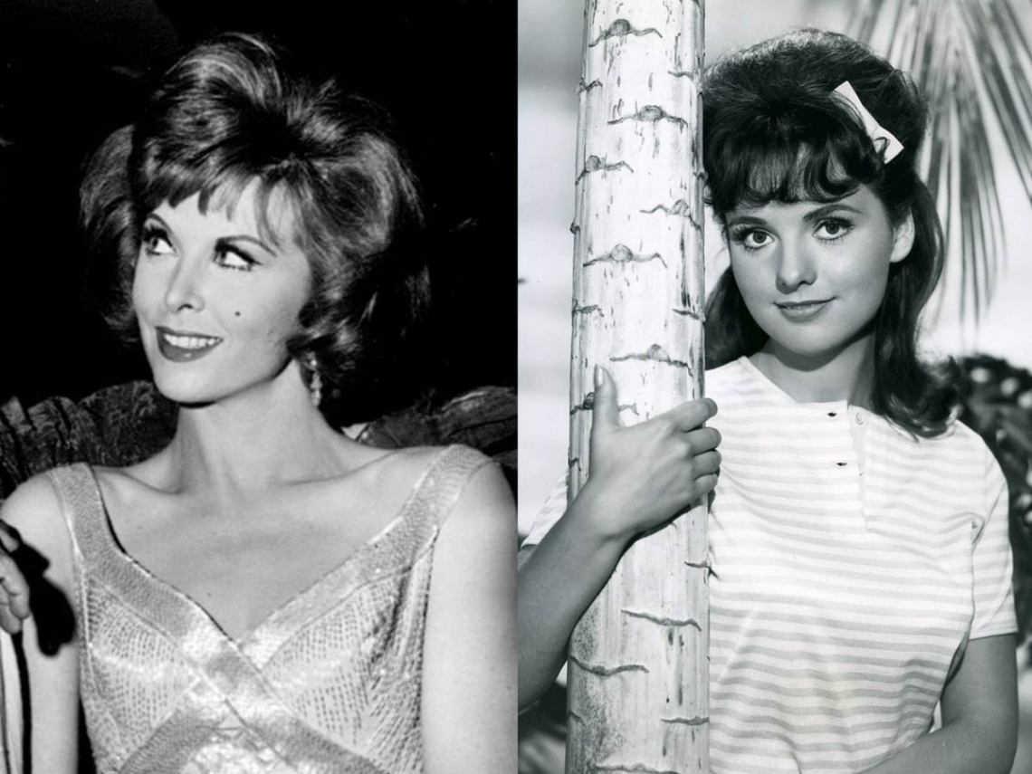Tina Louise as Ginger (left) and Dawn Wells as Mary Ann (right). (Wikimedia Commons)