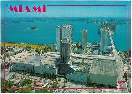 Miami postcard Omni