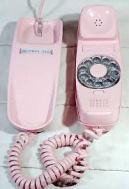 phone pink trimline