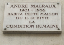 Plaque_André_Malraux,_44_rue_du_Bac,_Paris_7