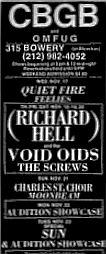richard hell cbgb