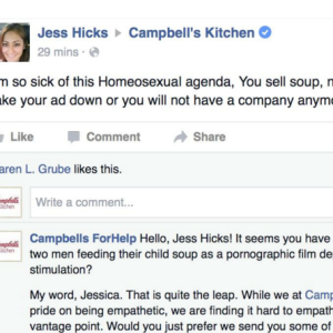 Woman Gets Totally Owned After Complaining About A Campbell's Commercial Featuring Two Gay Men