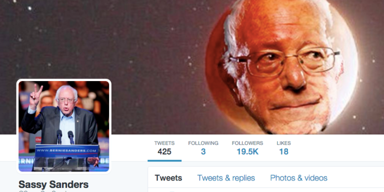 These 39 Tweets Show Why @SassySenSanders Is The Most Epic Twitter Account Of AllTime