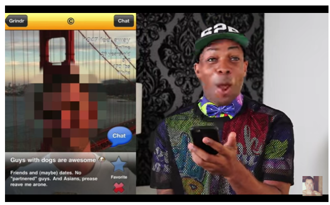 Davey Wavey Made An Awesome Video About Sexual Racism Every Gay Guy Needs ToWatch