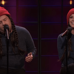 Watch Alanis Morissette And James Corden Perform 'Ironic' With Hilarious Modern Day Situations