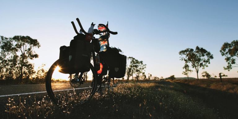 This Photographer Rode His Bike 40,000 Km Around The World To Escape A Life OfDepression