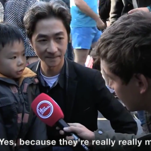 This Dad And Son Had A Stirring Conversation About The Paris Attacks On Camera