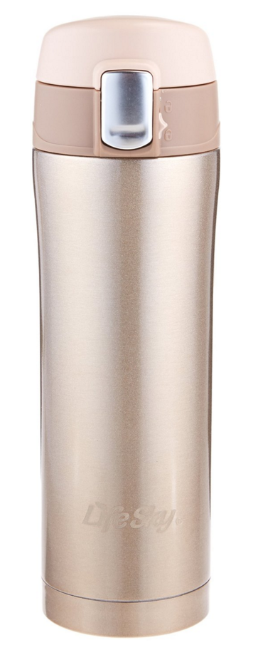 LifeSky Stainless Steel Insulated Travel Coffee Mug