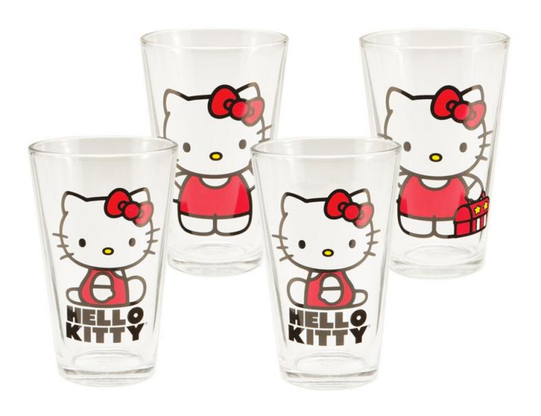 Vandor Hello Kitty Glass Set