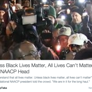 The Top 5 Reasons Saying 'All Lives Matter' Is Actually Unhelpful
