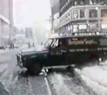 snow van stuck