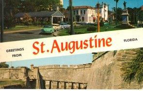 st. augustine postcard