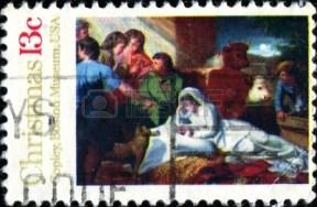 stamp christmas 76 religious