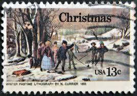 stamp christmas 76