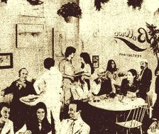 the ballroom sepia