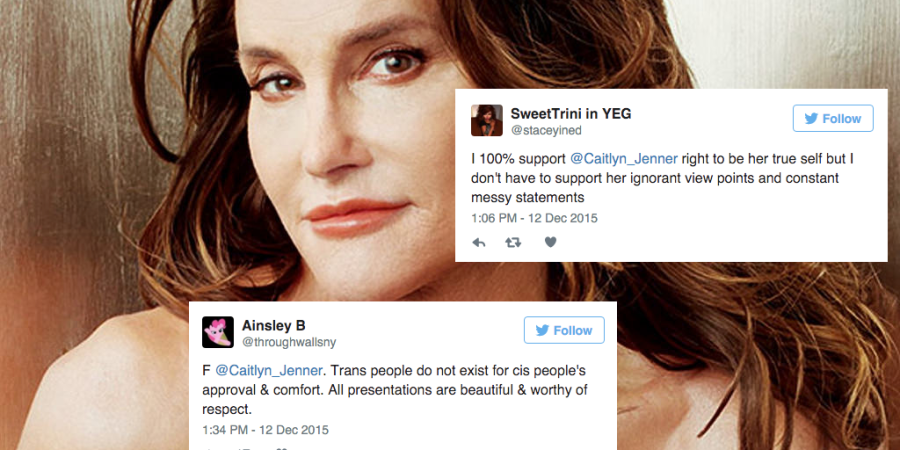 Here Are All The People Who Are Calling Caitlyn Jenner's 'Man In A Dress' Comments Transphobic