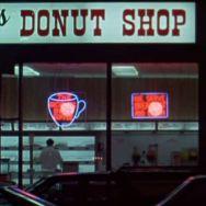 1976 donut shop night