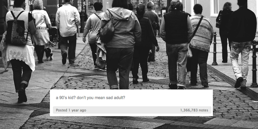This Profound Tumblr Post Explains Why '90s Kids Are Endlessly Obsessed With The'90s