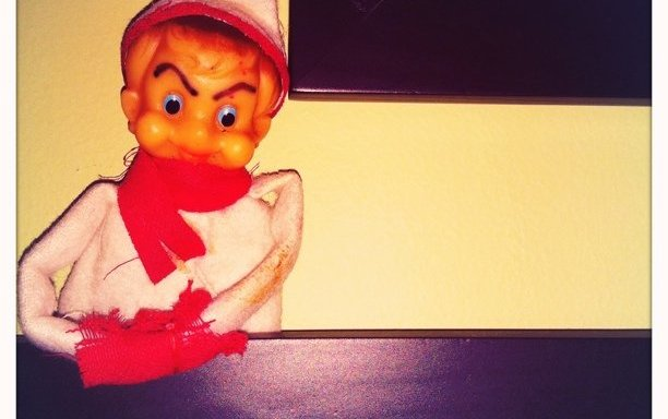 My Daughter Wants To Know Why Our Elf On The Shelf Is Behaving Strangely… We Don't Have An Elf On The Shelf