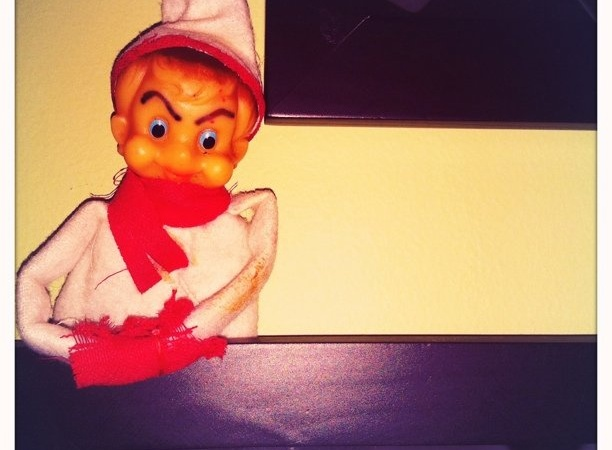 My Daughter Wants To Know Why Our Elf On The Shelf Is Behaving Strangely… We Don't Have An Elf On TheShelf