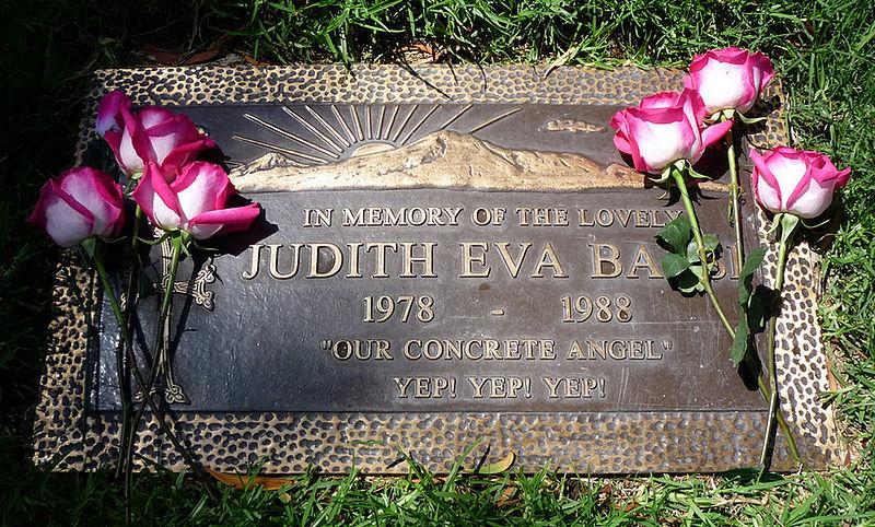 Wikicommons / Judith Barsi's grave