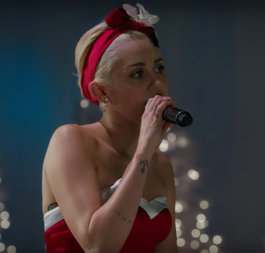 Holy Hell, Miley Cyrus Will Take Your Breath Away With Her Rendition Of 'Silent Night'